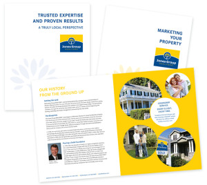Brochure Redesign for the Jones Group Realtors