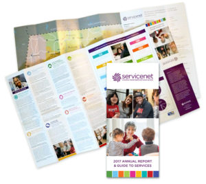ServiceNet's New Annual Report and Guide to Services
